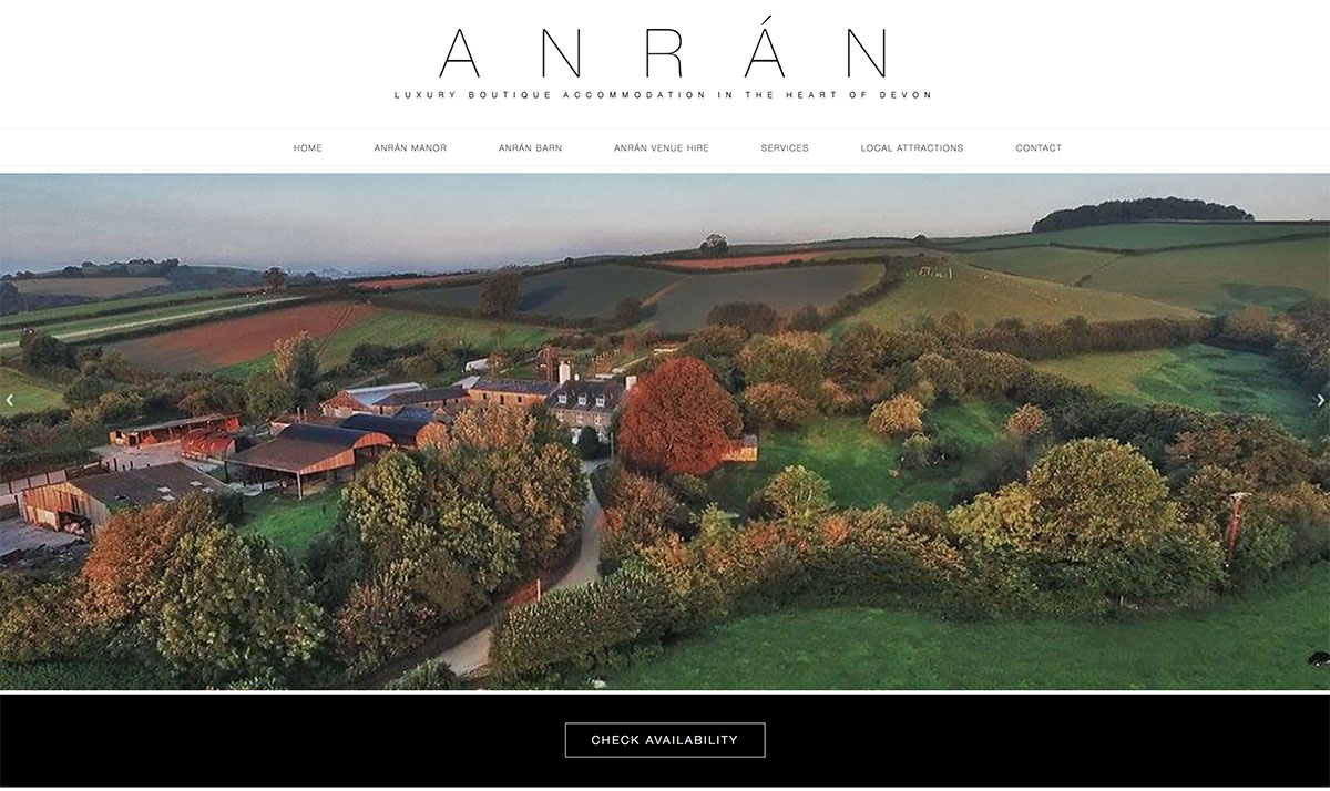 New website for ANRÁN